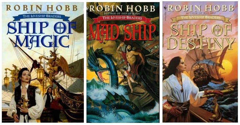 Image result for liveship traders trilogy